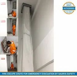Fire Escape Chutes Internal Emergency Evacuation - Linear Installation within the Buildings by Kudos