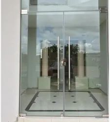 Hinged Toughened Glass Door, For Home,Office And Hotel, Thickness: 12mm