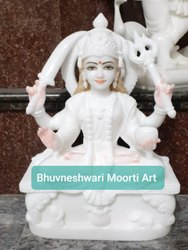 Marble Santoshi Maa Statue