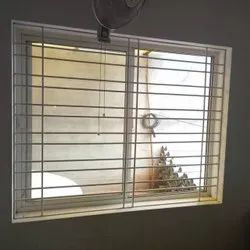 Wall Mounted Mild Steel MS Window Safety Grill