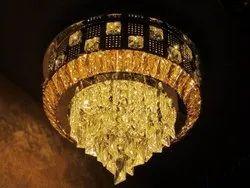 LED Ceiling Interior Crystal Chandelier 400mm