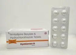 AMLODIPINE 5MG + HYDROCHLOROTHIAZIDE 12.5MG - Kymloven  H