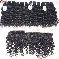 Best Quality Remy Curly Closure Hair