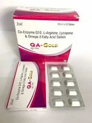 Co -Enzyme Q10  L-Arginine   Lycopene  Omega -3 Fatty Acid