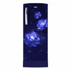 3 Star Blue 200L Whirlpool Icemagic Pro Single Door Refrigerator, Model Name/Number: Wattage (w)