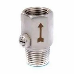 Stainless Steel Snubber (Male)