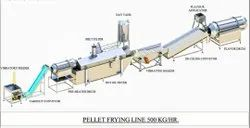 Fully Automatic Pellet(Fryums)  Frying Line
