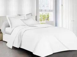 Satin Cotton Hotel Bedsheet