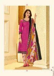 Ladies Printed Salwar Suit Dress Material