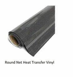 Round Net Pattern Heat Transfer Vinyl