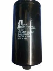Alcon 4700MFD 450VDC Electrolytic Capacitor, 450 Vac
