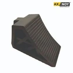 Rubber Axnoy Truck Wheel Chock - Small