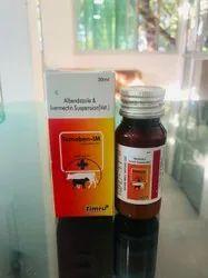Albendazole & Ivermectin Suspension(Vet.)