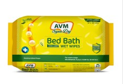 AVM Super Dry Bath Wipes