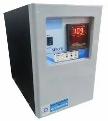 Unique Single Phase 3kVA Servo Controlled Voltage Stabilizer, For Industrial, 140 Vac