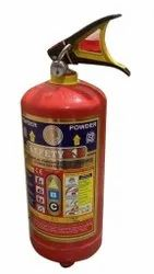 Safety 4.5kg ABC Dry Powder Fire Extinguisher, For Industrial Use