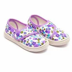 SAPAATO PVC Kids Shoes, Article: Super Purple Flower, Packaging Size: 5c To 10c