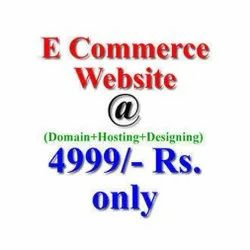 HTML5/CSS Dynamic E Commerce Website Design Service, With 24*7 Support