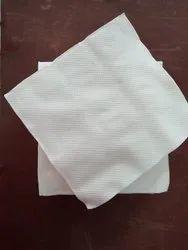 Plain White Tissue Paper Napkin, For Restaurant, Home, Size: 20*20