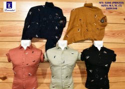 lancaster Cotton Mens Print Shirt, Size: m/l/xl