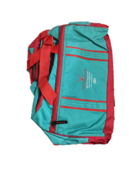 Blue Polyester Designer Air Luggage Bags