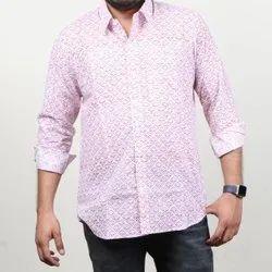 Jaipuri Hand Block Printed Cotton Men's Shirt