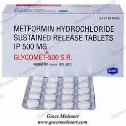 Glycomet 500 SR Tablet