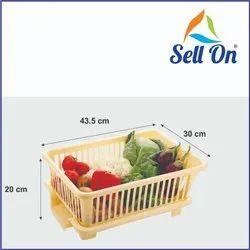 Plastic Dish Drainer Basket