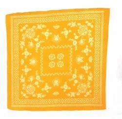 Cotton Square Designer Printed Bandana