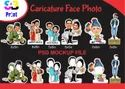 In Hyderabad Paper Caricature Face Photo Printing Service