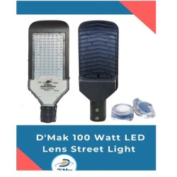 100W LED Street Light With Lens