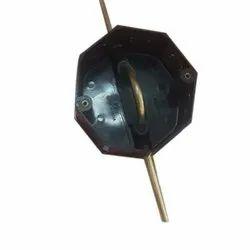 Black ABS Plastic Ceiling Fan Box