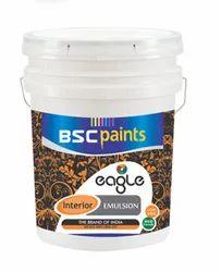 BSC Paints Eagle Economical Interior Emulsion 1 Litre