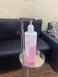 Stainless Steel Coated Sanitizer Stand