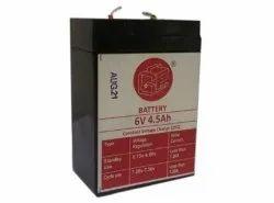6V SMF Battery, 4.5AH