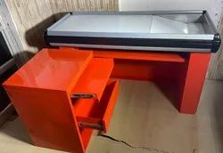 Ss Cash Counter Table