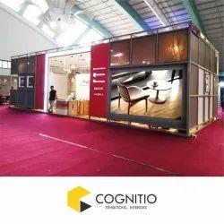 Aluminium Maxima Exhibition Stall Fabrication Service, Pan India