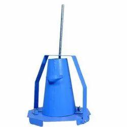 Slump Test Apparatus for Consistency of Concrete
