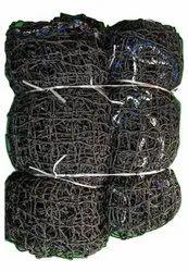 Black Nylon Hockey Net, Size: 288 X 96 Inch
