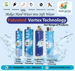 Automatic Blue Borewater Water Softening System, For Commercial