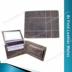 Male Brown Vintage Leather Wallet