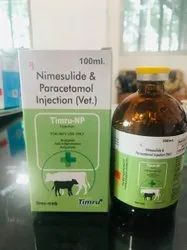 Nimesulide & Paracetamol Injection (Vet.)