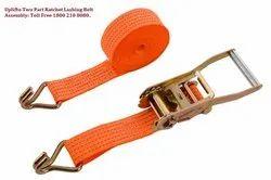 Ratchet Lashing Belt Two Part Assembly 50mmX5 Ton