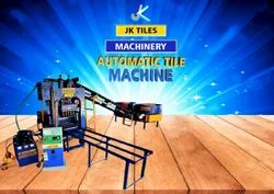 Automatic Cement Tile Making Machine