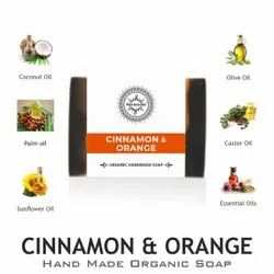 Aaranyam Cinnamon & Orange Soap, For Bathing, 100gm