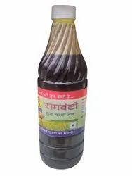 Yellow 1Litre Ramveti Pure Mustard Oil, Packaging Type: Plastic Bottle