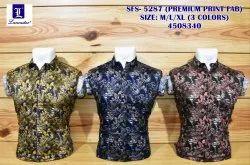 lancaster cotton Premium Quality Mens Shirt, Size: m/l/xl
