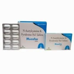 N- Acetylcysteine 600mg + Pyridoxine 50mg