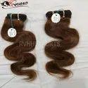 Brown Color Human Hair