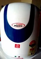 White Blue John Players ABS Body Geyser, Capacity: 10-25 Litres